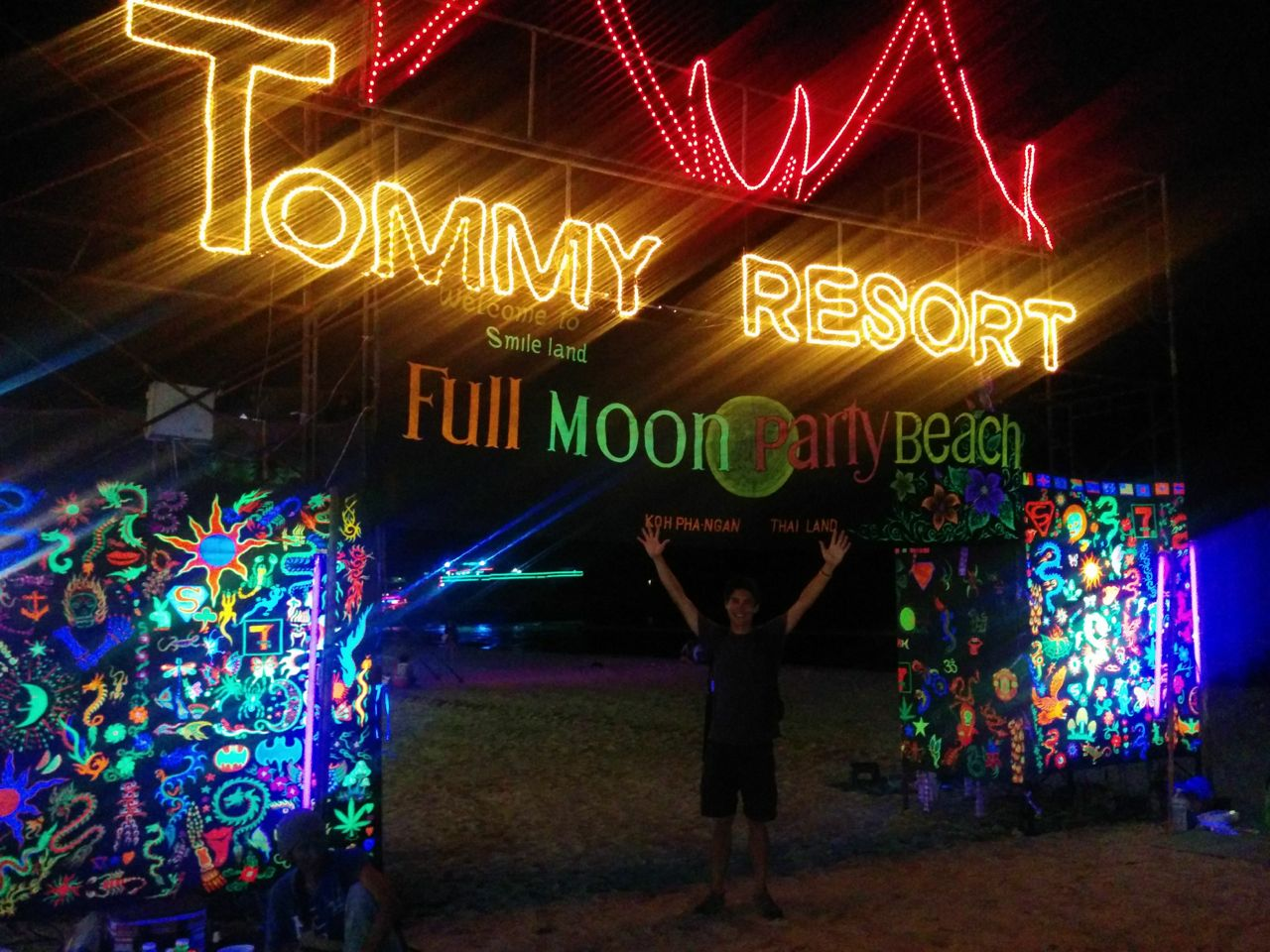 when are the full moon parties in thailand 2014
